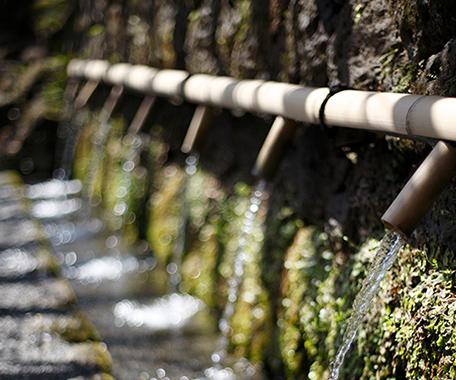 船越山のおいしい水
